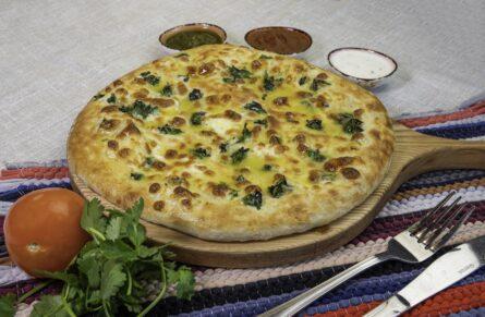 Хачапури со шпинатом